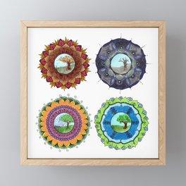 Seasons Framed Mini Art Print