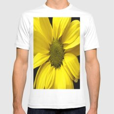 The Yellow one Mens Fitted Tee MEDIUM White