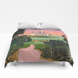 Dream for a Castle Comforters