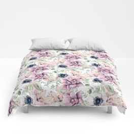 Oh my Succulents Comforters