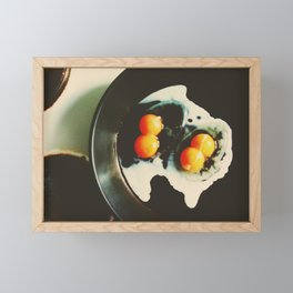 Double Yolk II Framed Mini Art Print