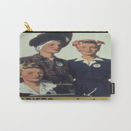 Vintage poster - Soldiers without guns Carry-All Pouch