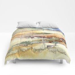 An Arroyo Windmill Comforters
