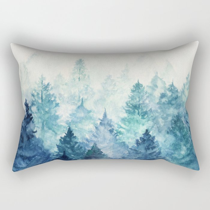 Fade Away Rectangular Pillow