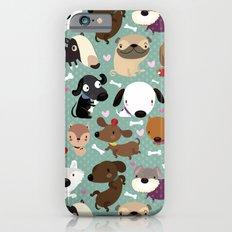 Dog pattern Slim Case iPhone 6