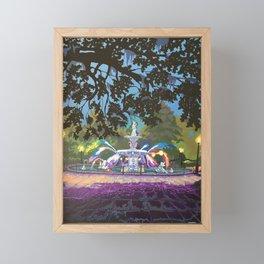 Forsyth Park Fountain Framed Mini Art Print