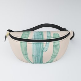 Solo Cactus Mint on Coral Pink Fanny Pack