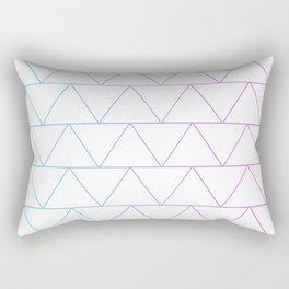 Triangle 2 Rectangular Pillow