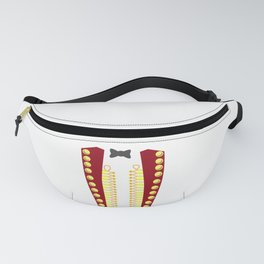 RINGMASTER CIRCUS COSTUME SHOWMAN Costume Suit Fanny Pack