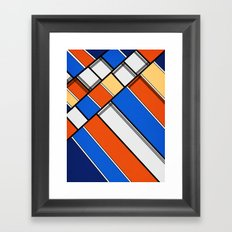 Lined I Framed Art Print
