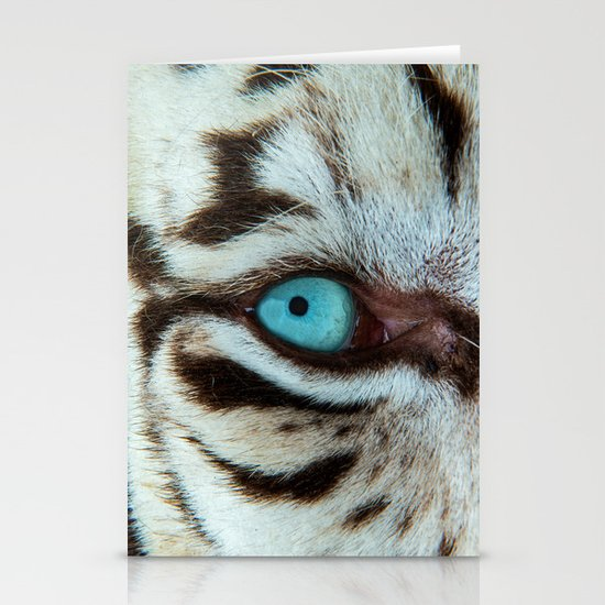 WHITE TIGER BEAUTY Stationery Cards