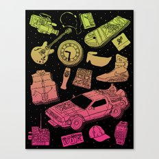 Artifacts: Back to the Future Canvas Print