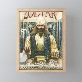 Zoltar the fortune teller London England UK Framed Mini Art Print