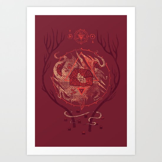 The Dunwich Horror Art Print