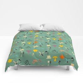 Kitschy Kitchen Comforters