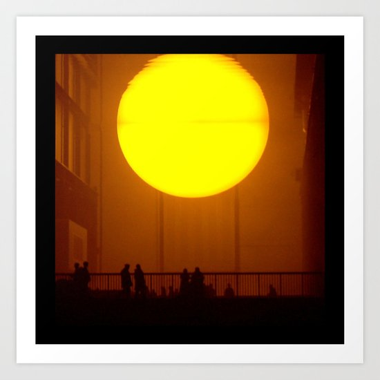 Indoor Sunset Art Print
