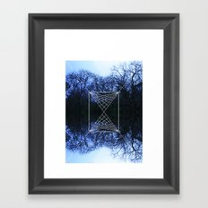 web Framed Art Print