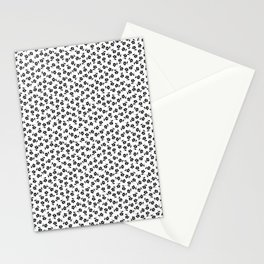 Forget Me Nots - Black on White Stationery Cards