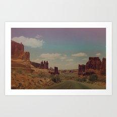 Utah Exploring Art Print