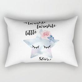 Twinkle, twinkle little star Rectangular Pillow