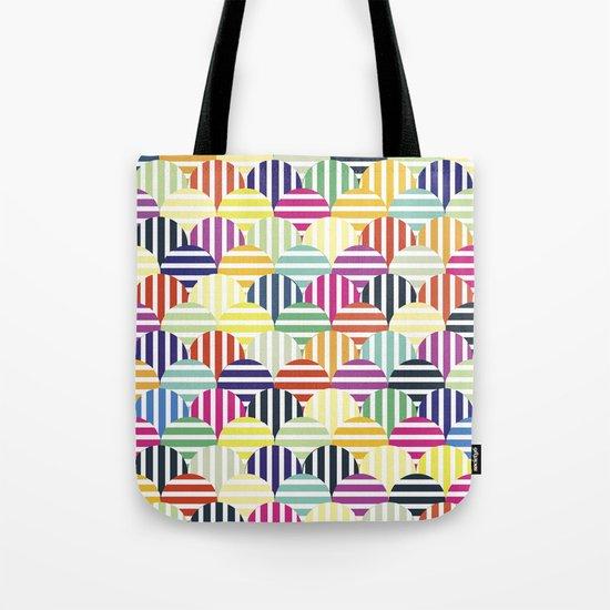 Colorful Circles IV Tote Bag