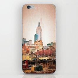NYC Vintage style iPhone Skin