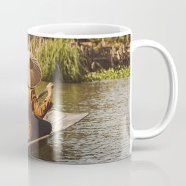 Vivid scene in Burma Coffee Mug