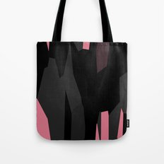 Pink Black and Gray abstract 54 Tote Bag