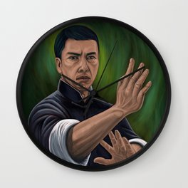Ip Man Donnie Yen Wall Clock