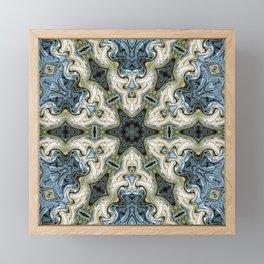 east painted pattern Framed Mini Art Print