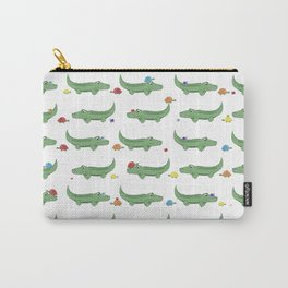 Alligator, Snail and Turtle Party - Children - 57 Montgomery Ave Carry-All Pouch