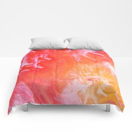 Abstract Cells 3 Comforters