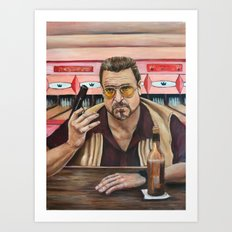 Walter / The Big Lebowski / John Goodman Art Print