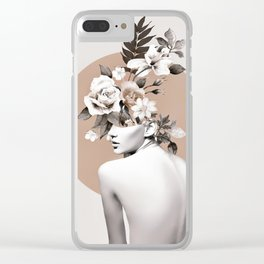 Bloom 8 Clear iPhone Case