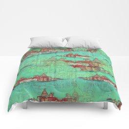 Venetian Green Comforters
