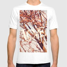 Spring LOVE Mens Fitted Tee White MEDIUM