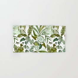 Wild botany in the jungle Hand & Bath Towel