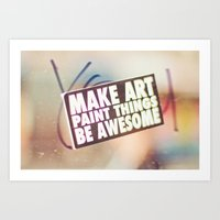 Hello Art Art Print
