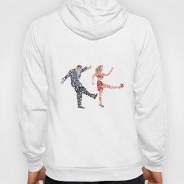 I'll never tell typography Hoody