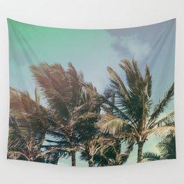 Vintage Palm Hawaii Summer Daze Wall Tapestry