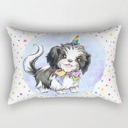 Shih tzu Unicorn Rectangular Pillow