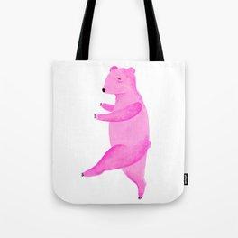 Dancing Bear №1 Tote Bag