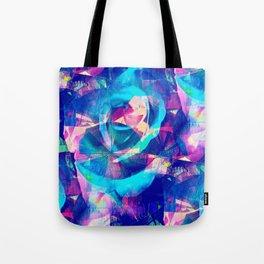 Blue Rose Carnival Tote Bag