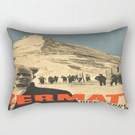Vintage poster - Zermatt Rectangular Pillow