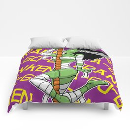 Franken-a-go-go Comforters