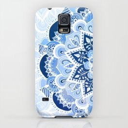 Lacy Blues iPhone Case