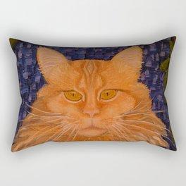 The Night Cat Rectangular Pillow