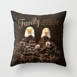 Family is Forever Throw Pillow