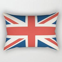 Union Jack UK Flag Rectangular Pillow