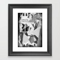 Crystal Castles Framed Art Print